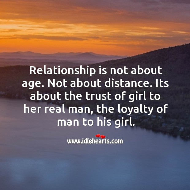 Image, Relationship is about the loyalty of man to his girl.