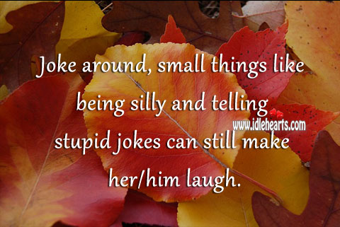 Small Silly Things Matter in Relationship.