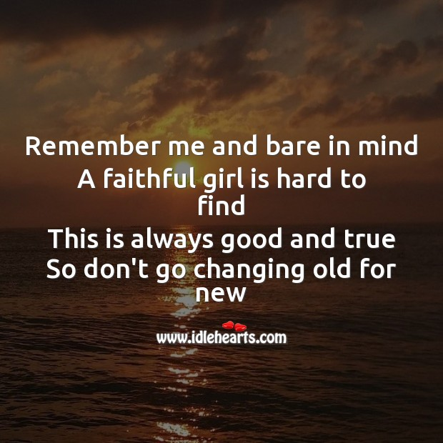 Remember me and bare in mind Sad Messages Image