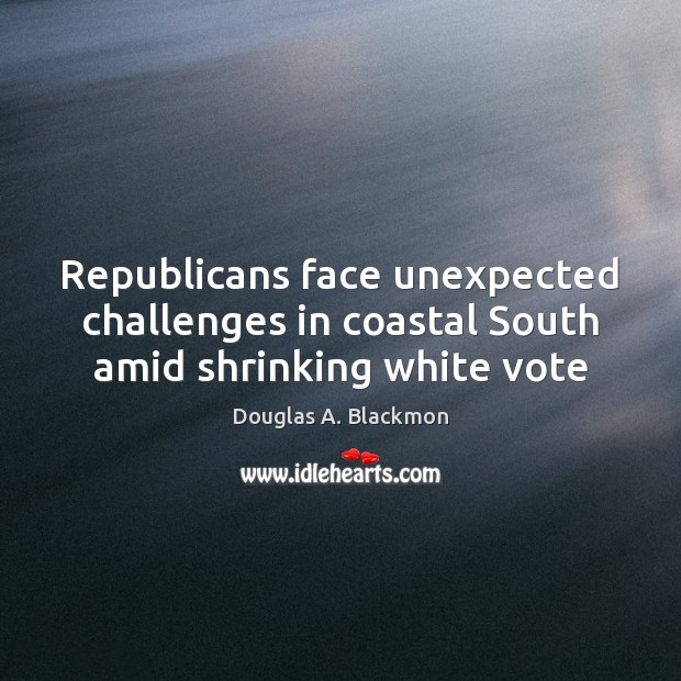 Image, Republicans face unexpected challenges in coastal South amid shrinking white vote