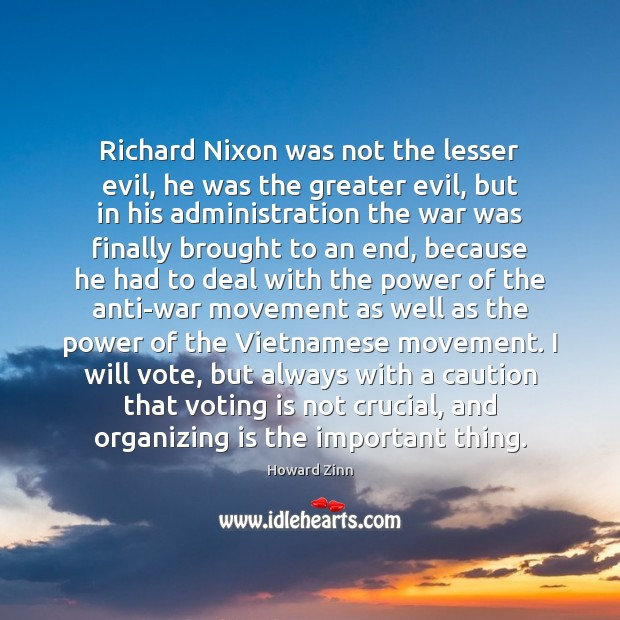 Image, Richard Nixon was not the lesser evil, he was the greater evil,