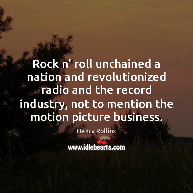 Rock n' roll unchained a nation and revolutionized radio and the record Image