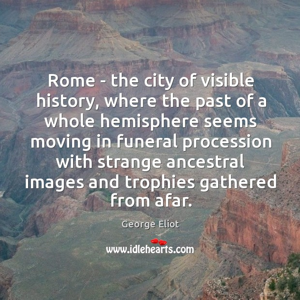 Image, Rome – the city of visible history, where the past of a
