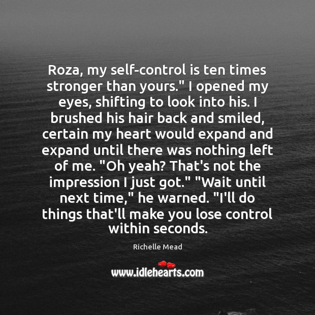 Self-Control Quotes
