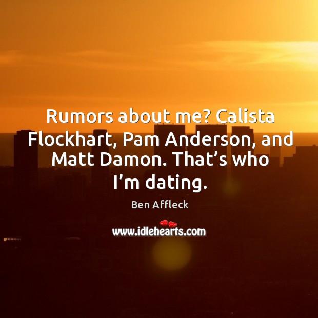 Im dating matt damon start dating website