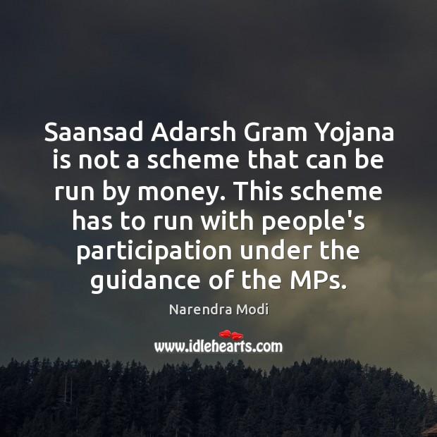 Image, Saansad Adarsh Gram Yojana is not a scheme that can be run