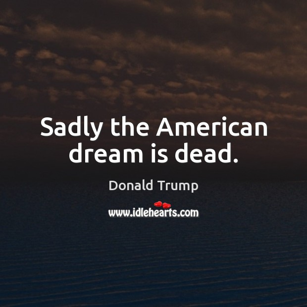 dreams do americans share