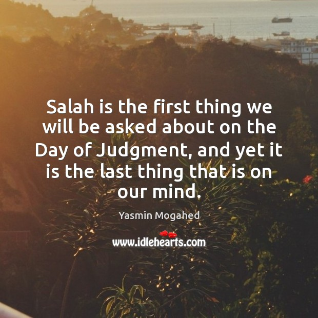 Image, Salah is the first thing we will be asked about on the