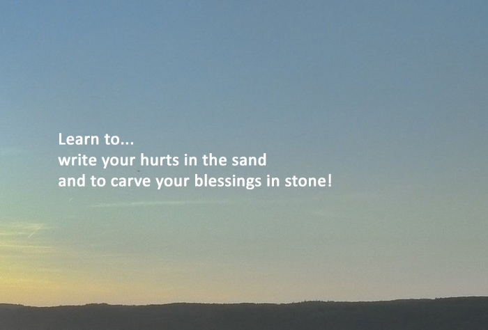 The sands of forgiveness Motivational Stories Image