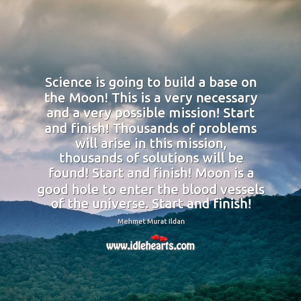 Image, Science is going to build a base on the Moon! This is