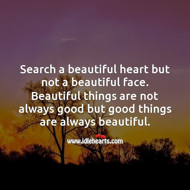 Search a beautiful heart Image