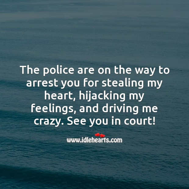 See you in court! Image