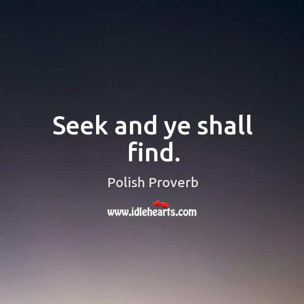 Polish Proverb Image