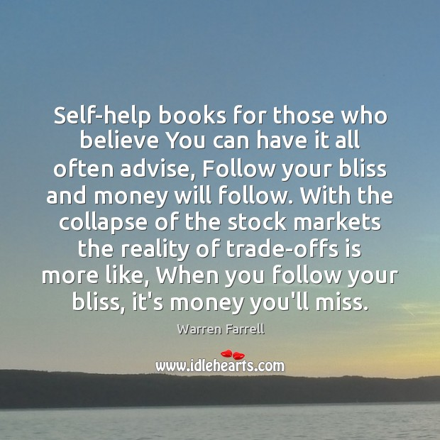 Self-help books for those who believe You can have it all often Image