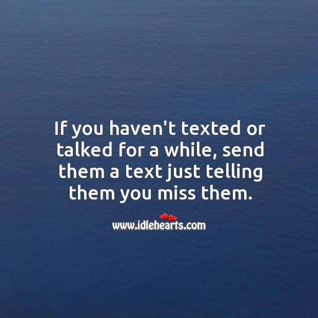 Image, Send your partner a text just telling them you miss them.