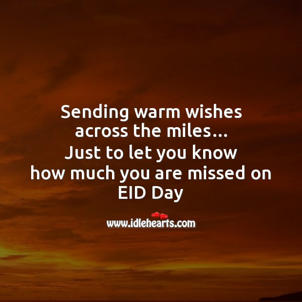 Image, Sending warm wishes across the miles…