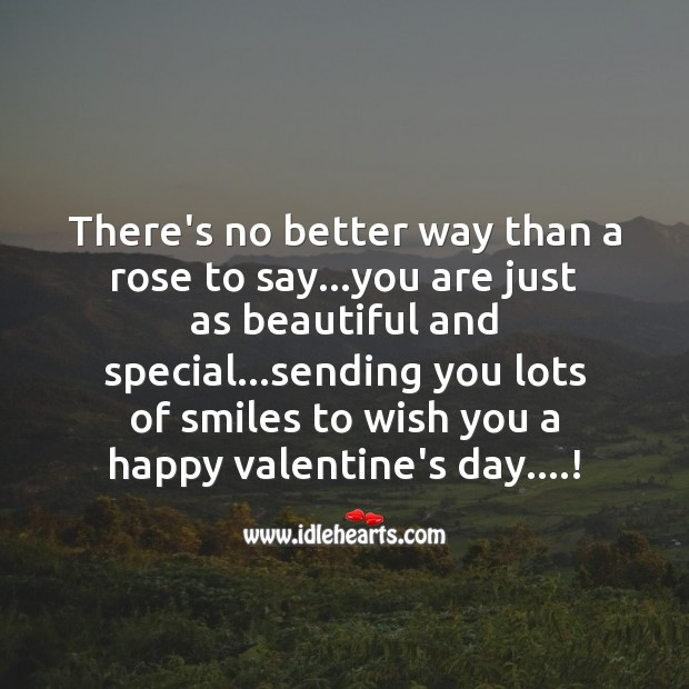 Sending you lots of smiles Smile Messages Image