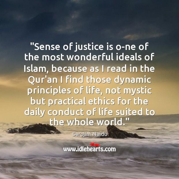 sense justice