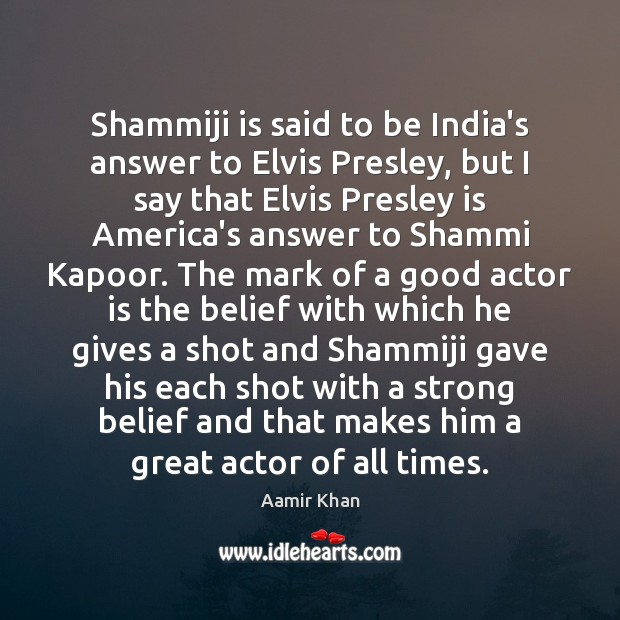 Image, Shammiji is said to be India's answer to Elvis Presley, but I