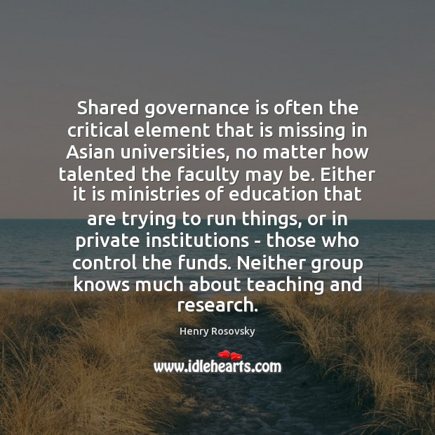 Image, Shared governance is often the critical element that is missing in Asian