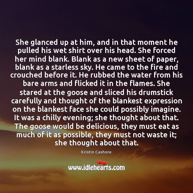 She glanced up at him, and in that moment he pulled his Image