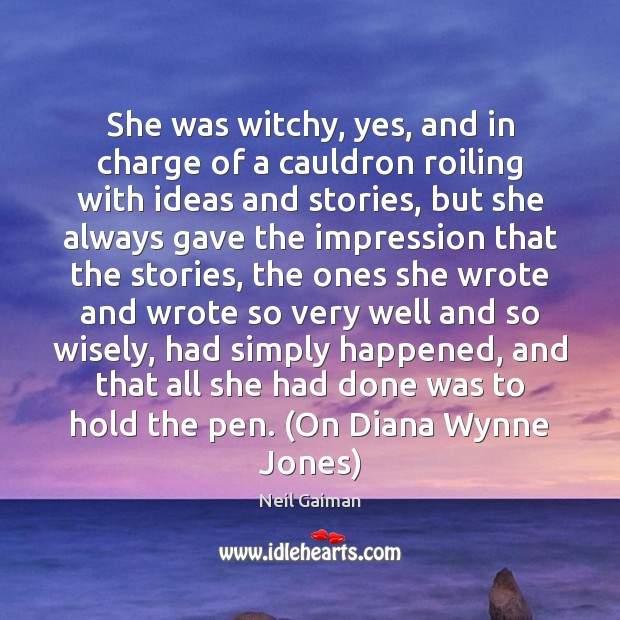 She was witchy, yes, and in charge of a cauldron roiling with Image