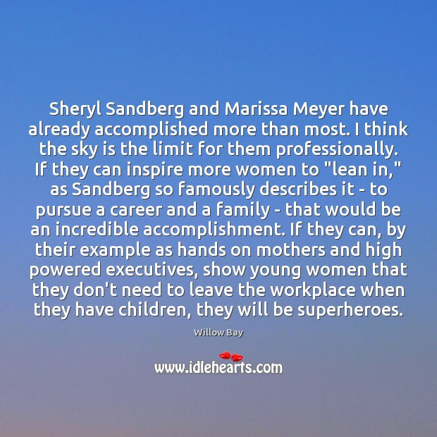 Sheryl Sandberg and Marissa Meyer have already accomplished more than most. I Image