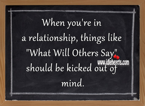 Don't let others ruin your relationship Image
