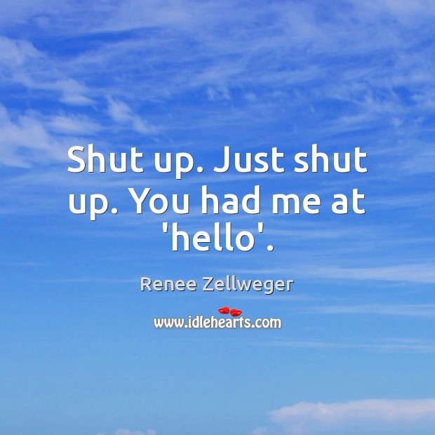 Picture Quote by Renee Zellweger