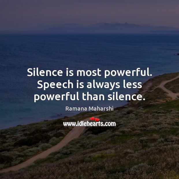 the power of speech and silence An inspirational and witty collection of famous quotes and quotations on speech, talking, words, communication and silence on tentmaker's wisdom quotes site.