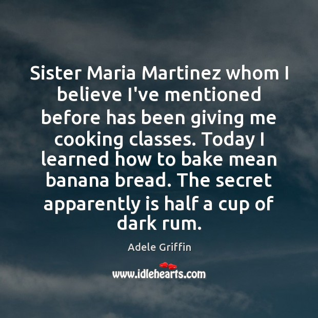 Image, Sister Maria Martinez whom I believe I've mentioned before has been giving