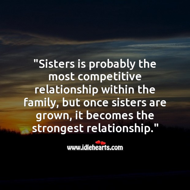 Sisters is probably the most competitive relationship within the family Raksha Bandhan Messages Image