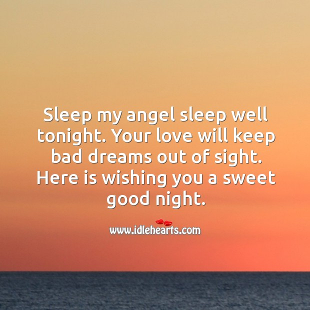 Image, Sleep my angel sleep well tonight.