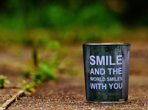 Image, Smile and the world smiles with you.