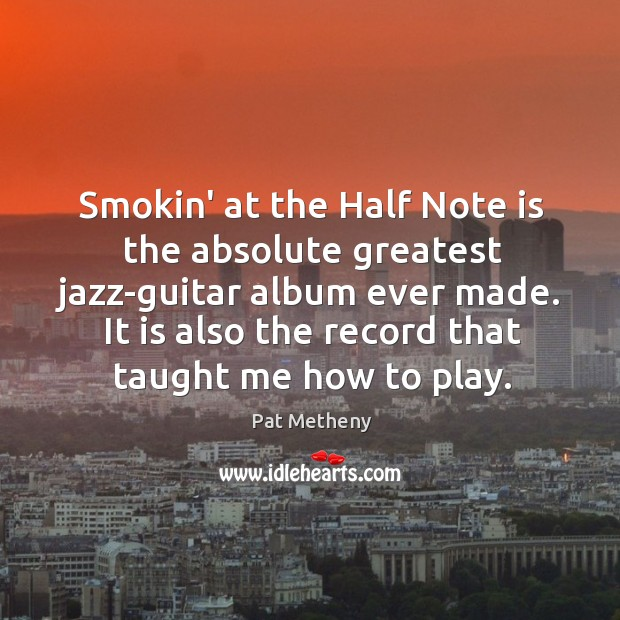 Smokin' at the Half Note is the absolute greatest jazz-guitar album ever Image