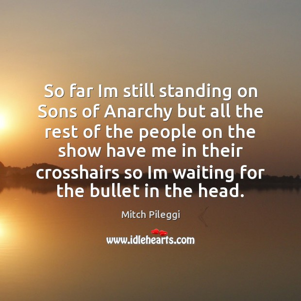 So far Im still standing on Sons of Anarchy but all the Image