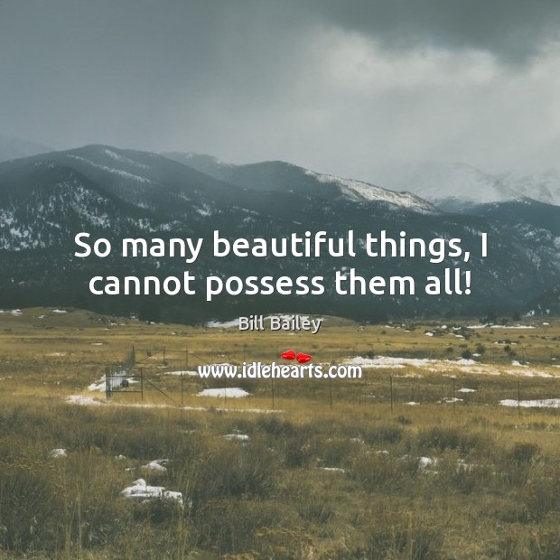 So many beautiful things, I cannot possess them all! Image
