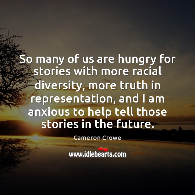 Image, So many of us are hungry for stories with more racial diversity,