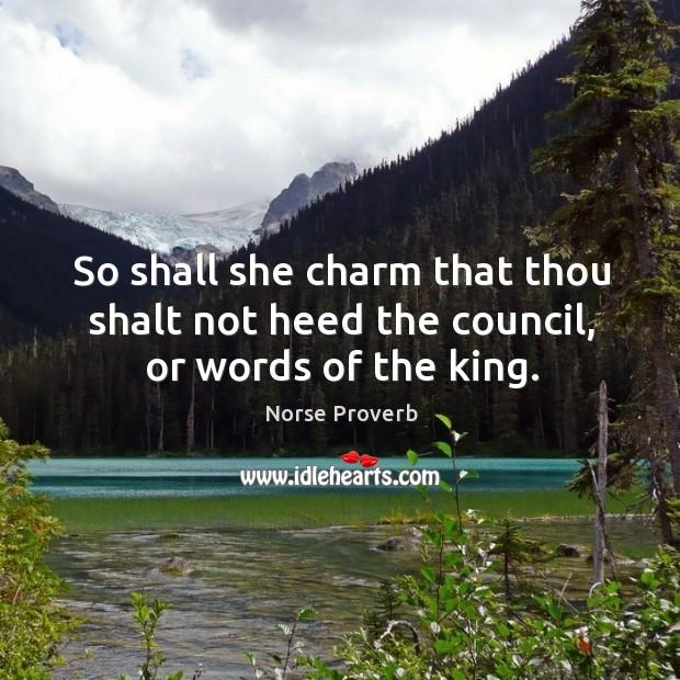 Norse Proverbs