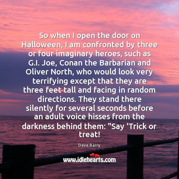 So when I open the door on Halloween, I am confronted by Halloween Quotes Image