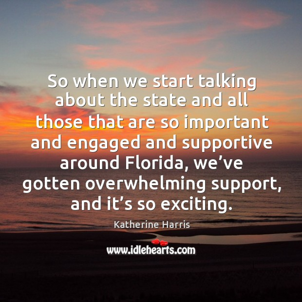 Image, So when we start talking about the state and all those that are so important and