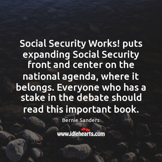 Social Security Works! puts expanding Social Security front and center on the Image