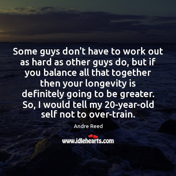 Image, Some guys don't have to work out as hard as other guys
