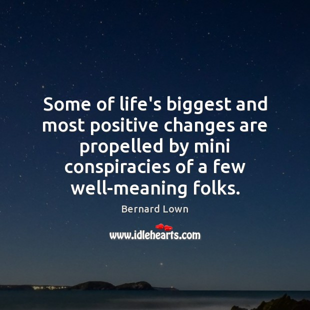 Some of life's biggest and most positive changes are propelled by mini Image