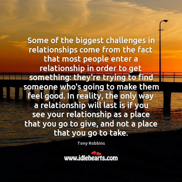 Image, Some of the biggest challenges in relationships come from the fact that