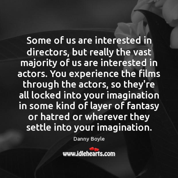 Image, Some of us are interested in directors, but really the vast majority