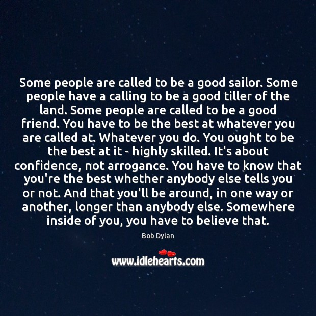 Some people are called to be a good sailor. Some people have Image