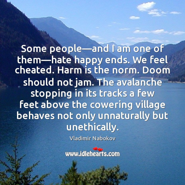 Some people—and I am one of them—hate happy ends. We Image