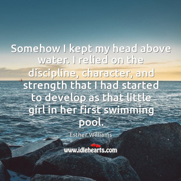 Picture Quote by Esther Williams