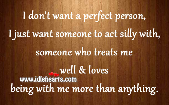 Someone who treats me well & loves Image